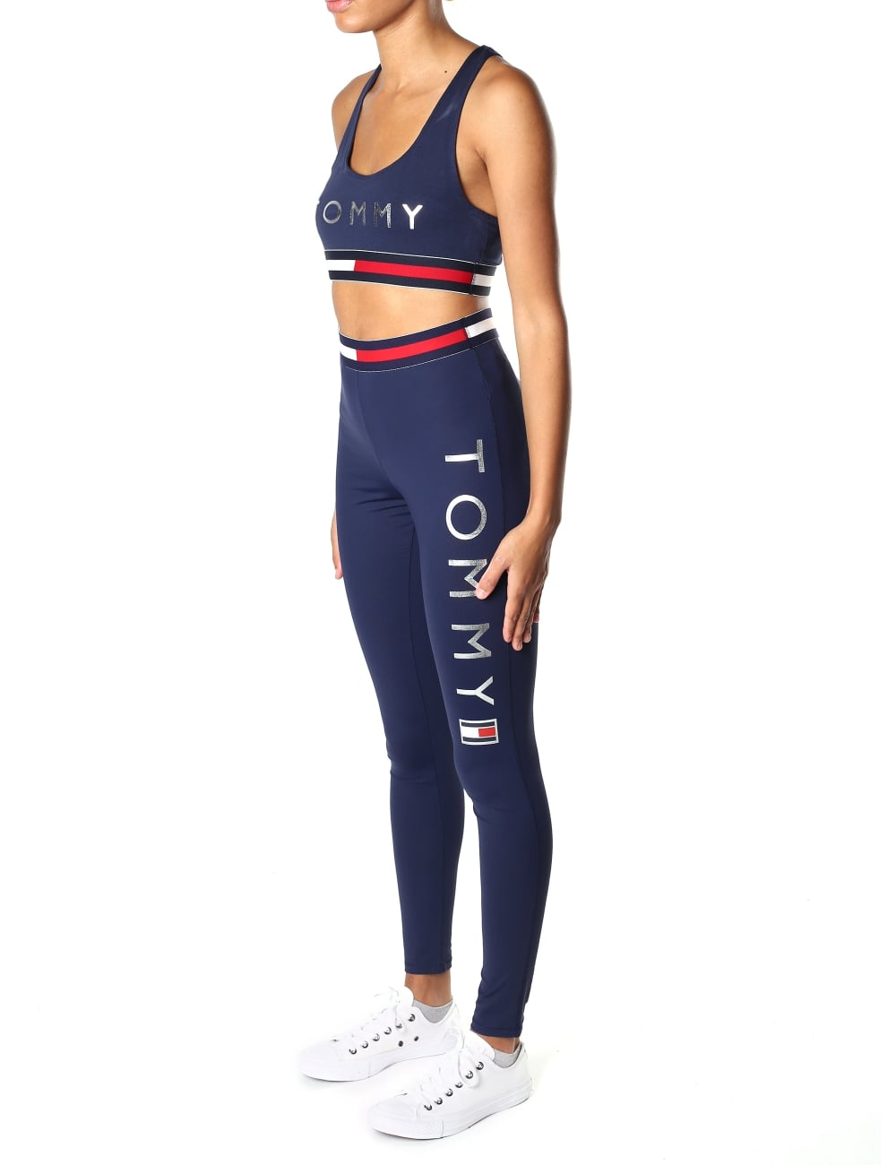 8e26bf6f845b1 Tommy Hilfiger Women's Athletic Crop Top