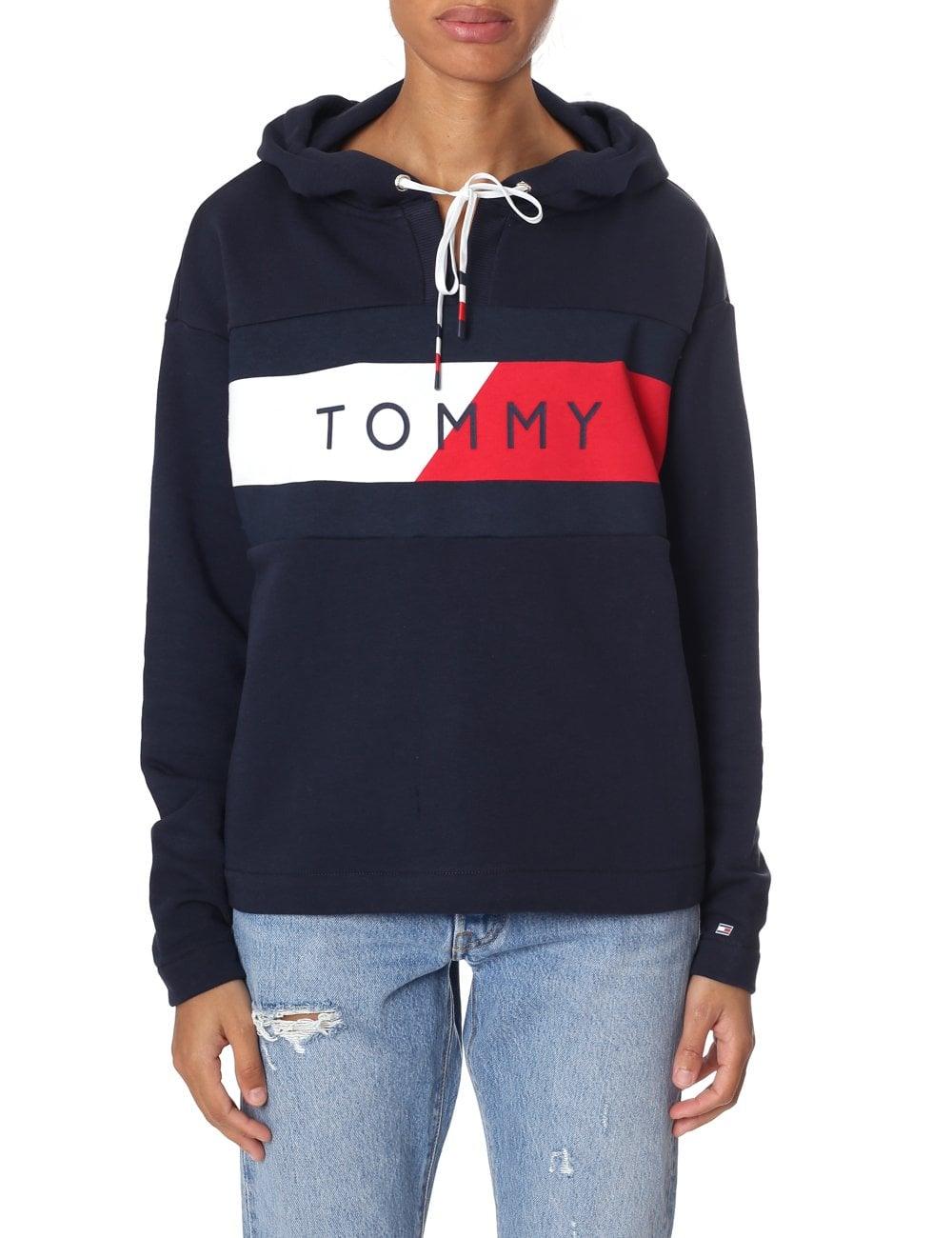 Größe 7 neu billig Turnschuhe Tommy Hilfiger Women's Athletic Electra Hoodie