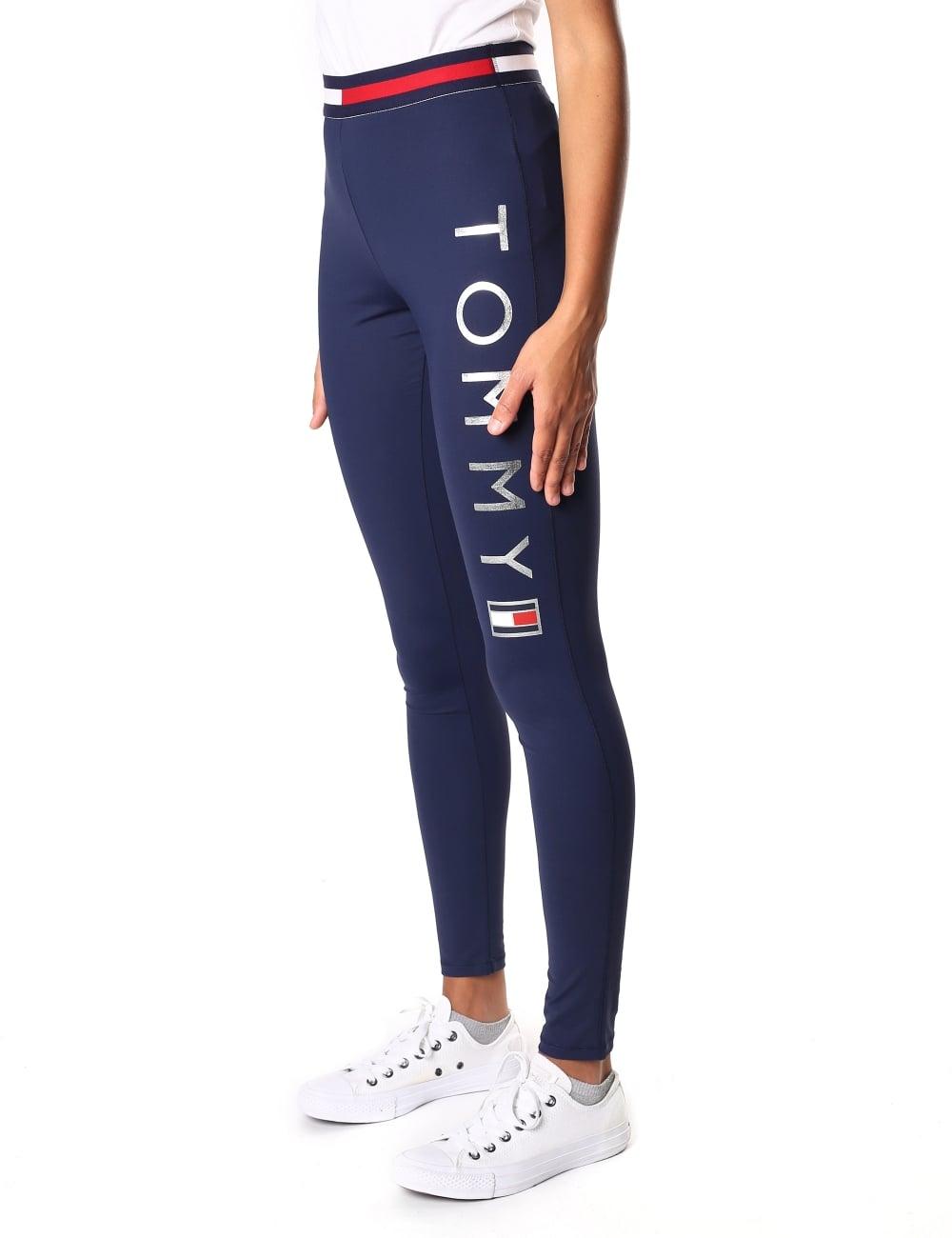 bea461bb Tommy Hilfiger Women's Athletic Tiffany Logo Legging