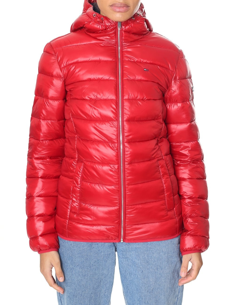 außergewöhnliche Farbpalette das beste super günstig im vergleich zu Tommy Hilfiger Women's Basic Quilted Hooded Jacket