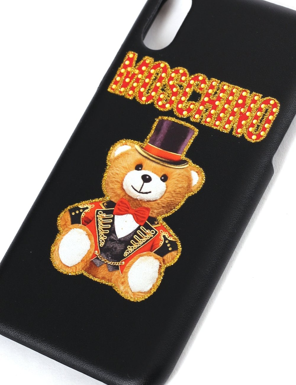 the latest 07128 09696 Moschino Couture Women's Bear With Hat Iphone X Case
