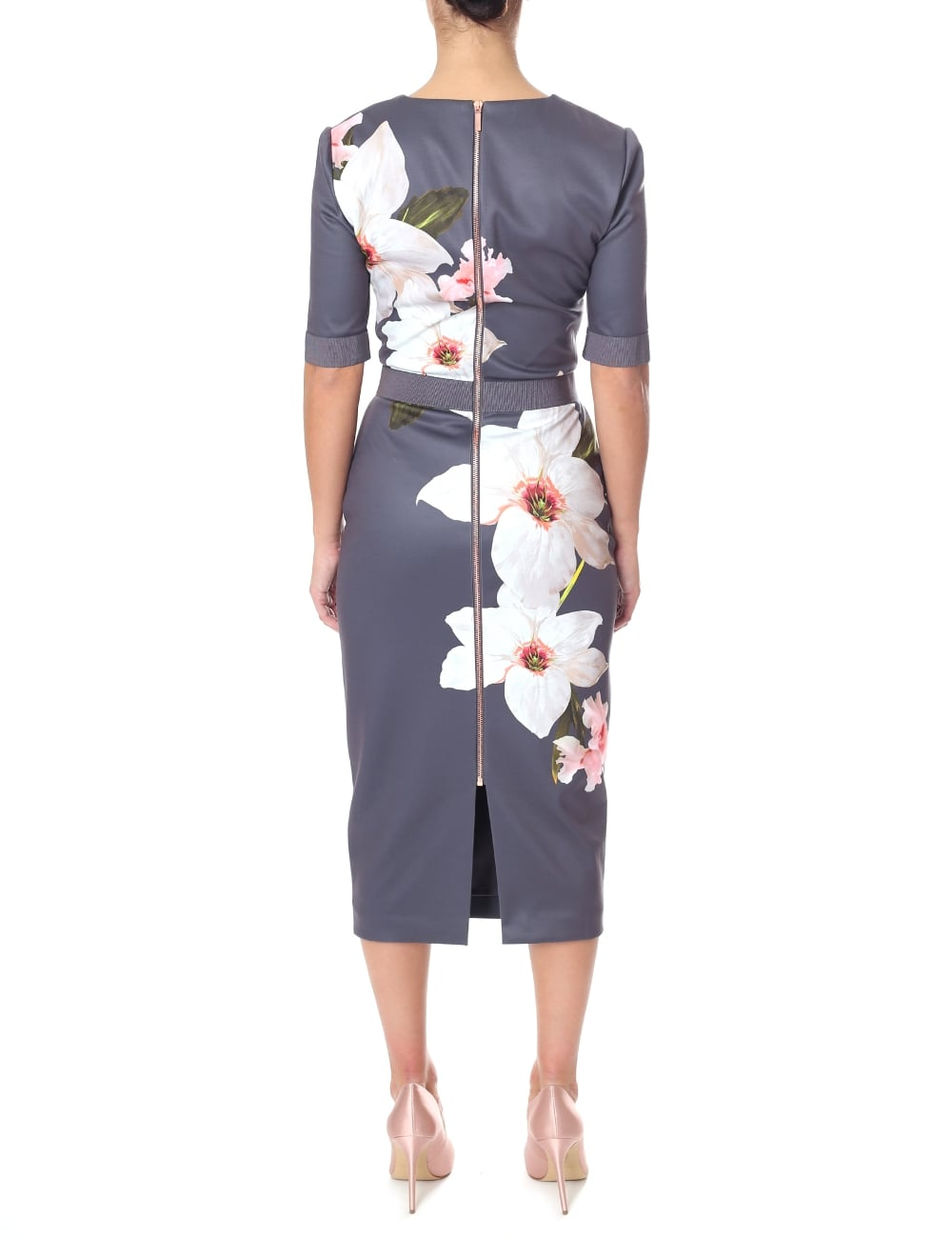 7f09e31b Ted Baker Women's Bisslee Chatsworth Bodycon Dress