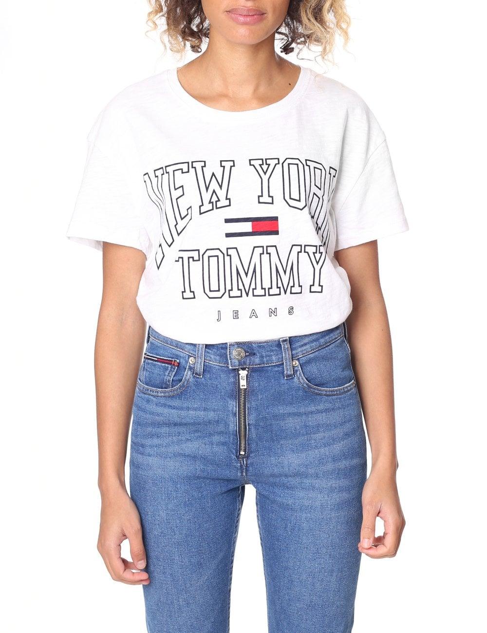 23ed3133d Tommy Hilfiger Women's Boxy New York Tee