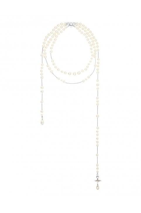 fa87689e5d Women's Broken Pearl Necklace. Vivienne Westwood Women's Broken Pearl  Necklace