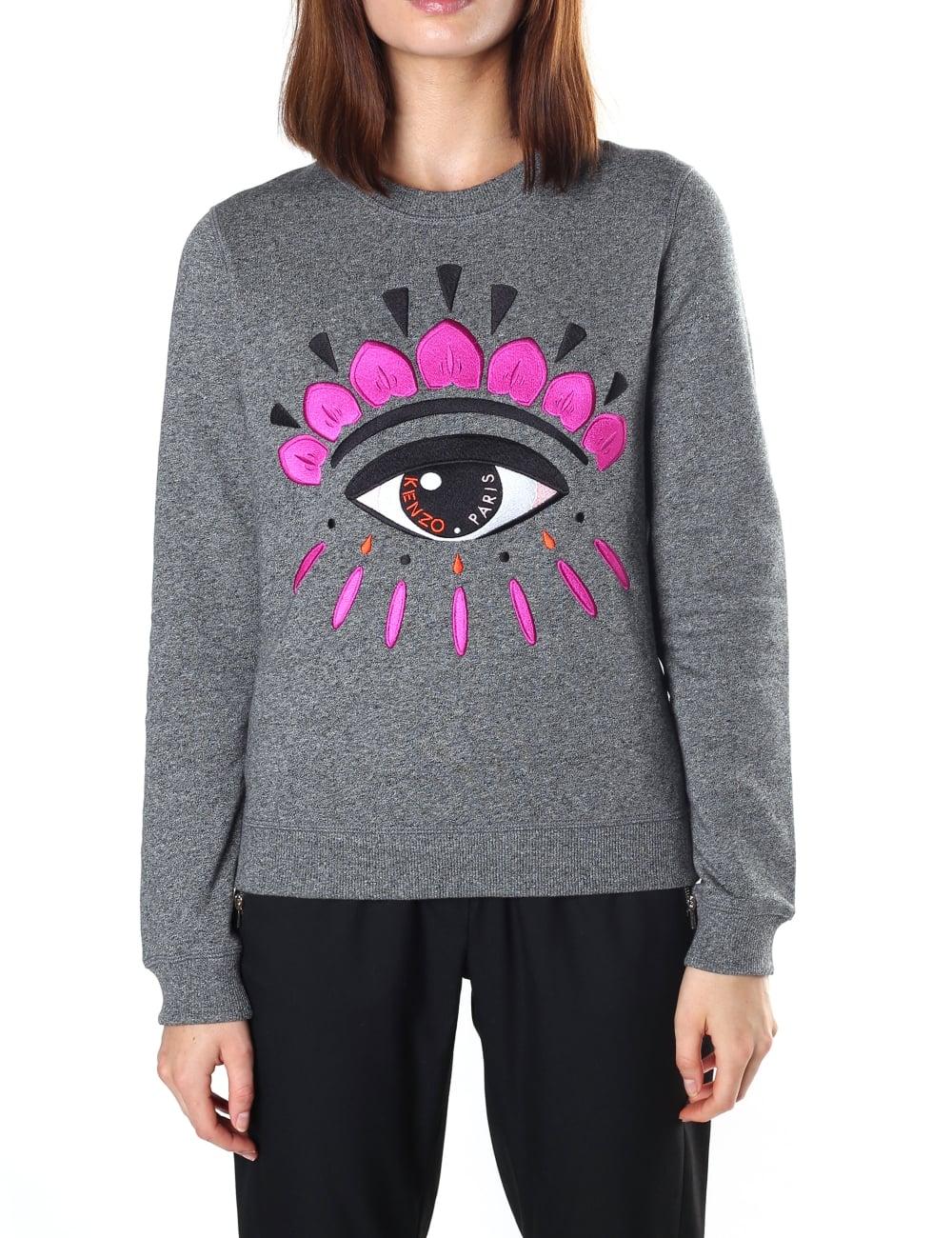 99dd843ebd79 Kenzo Women's Classic Eye Sweatshirt