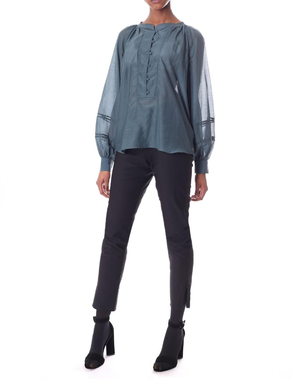 6b8aed3570a Maison Scotch Women's Cotton Silk Tunic Top