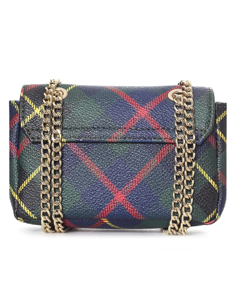 d092c425ab9 Vivienne Westwood Women's Derby Small Purse With Chain Hunting Tartan