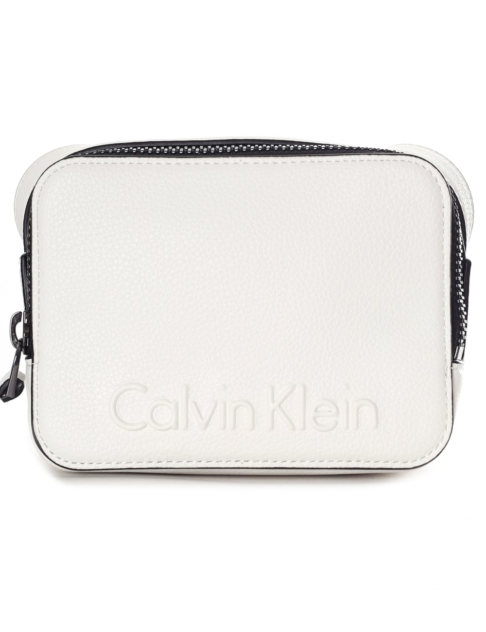30d80d153 Calvin Klein Women's Embossed Small Crossbody Bag