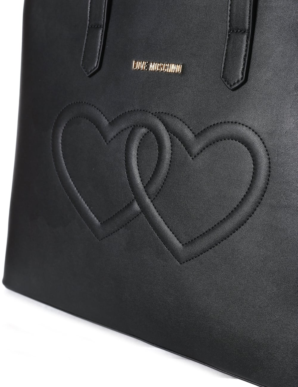 b97f3505a6 Love Moschino Women's Heart Embossed Large Tote