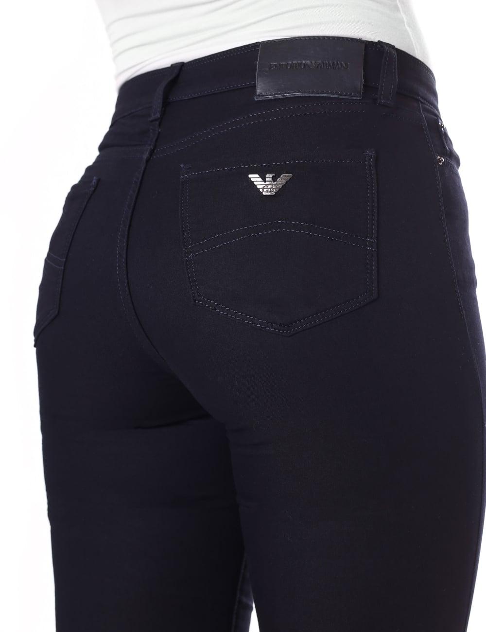 1efa3e9d1f Emporio Armani Women's High Rise Skinny Fit Jean
