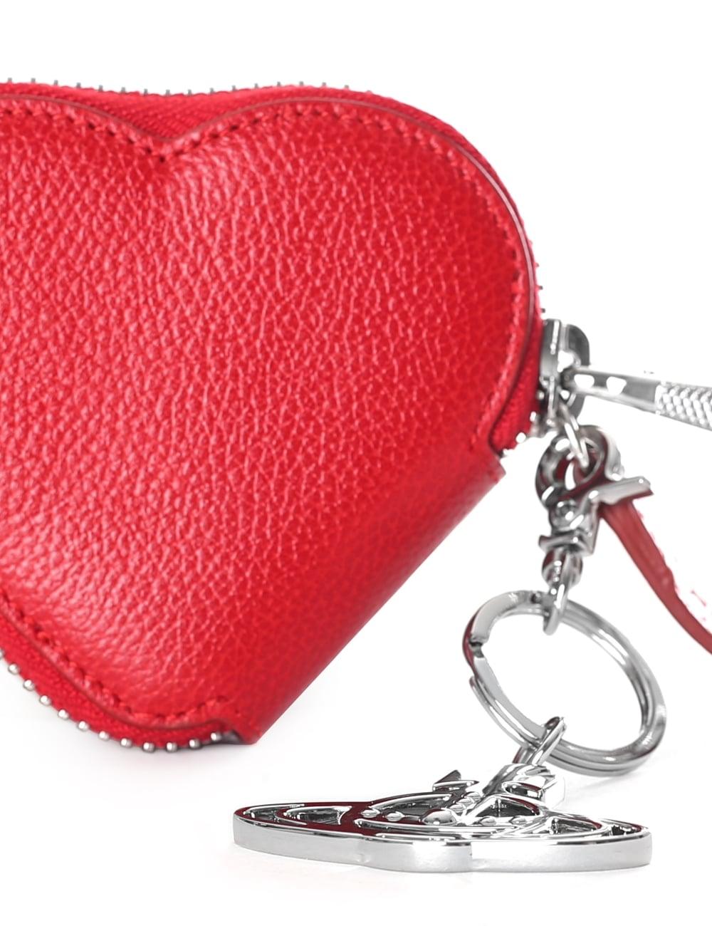 683788ba8c Vivienne Westwood Women's Johanna Heart Coin Case With Orb Gadget