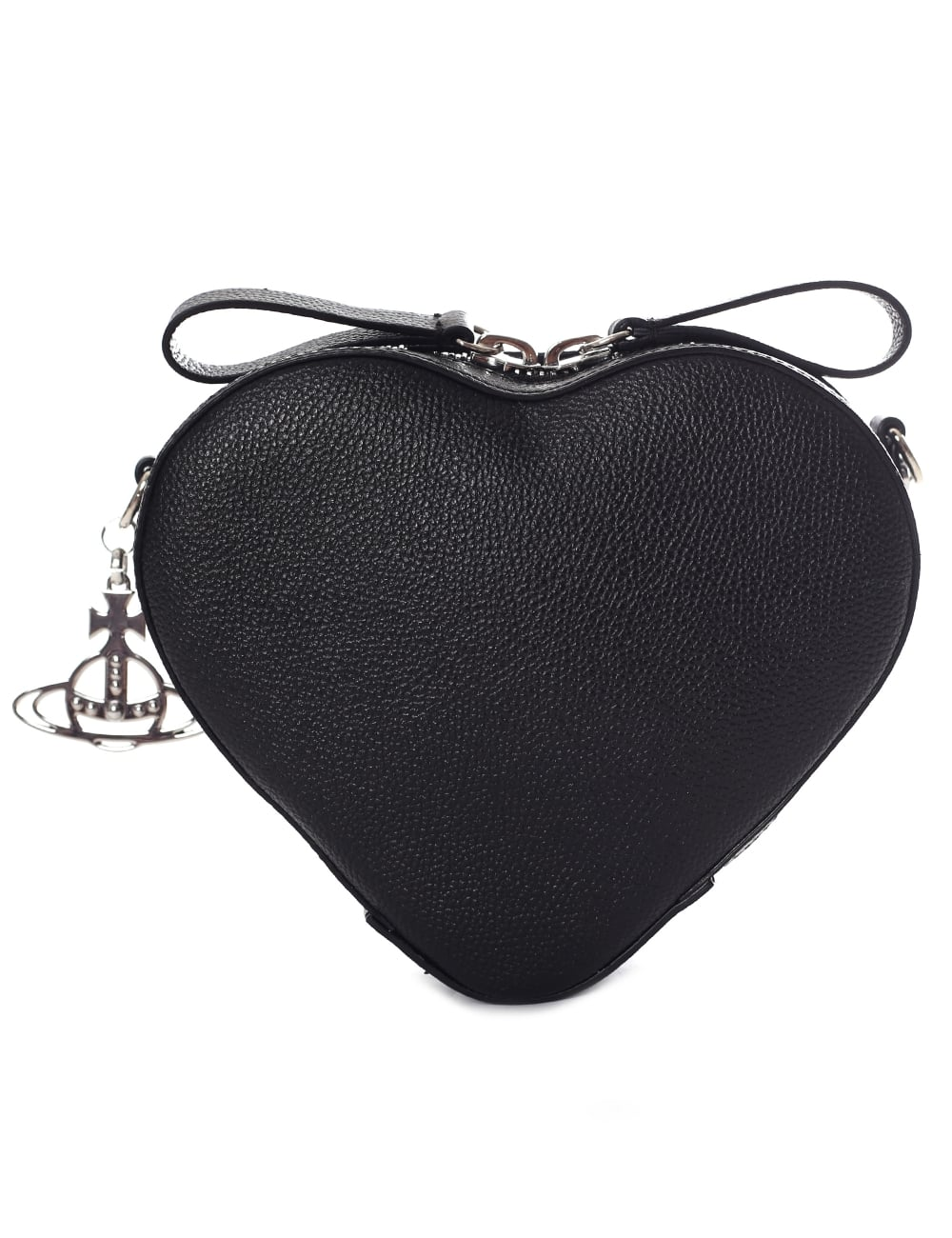 dd2a2ec47c0 Vivienne Westwood Women's Johanna Heart Crossbody Bag Black