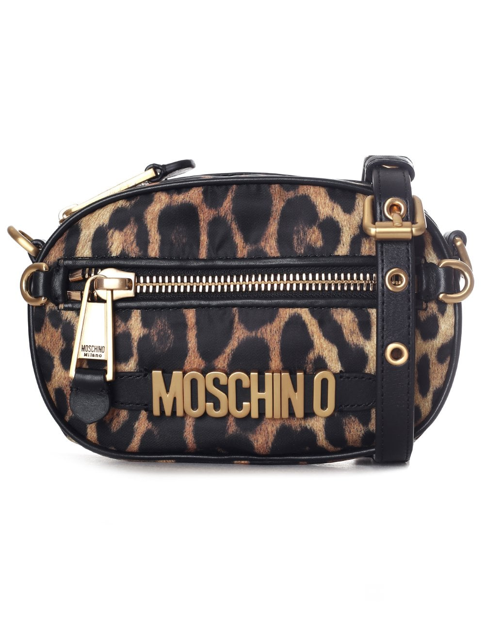 b15a6f55e0e Moschino Couture Women's Leopard Shoulder Bag