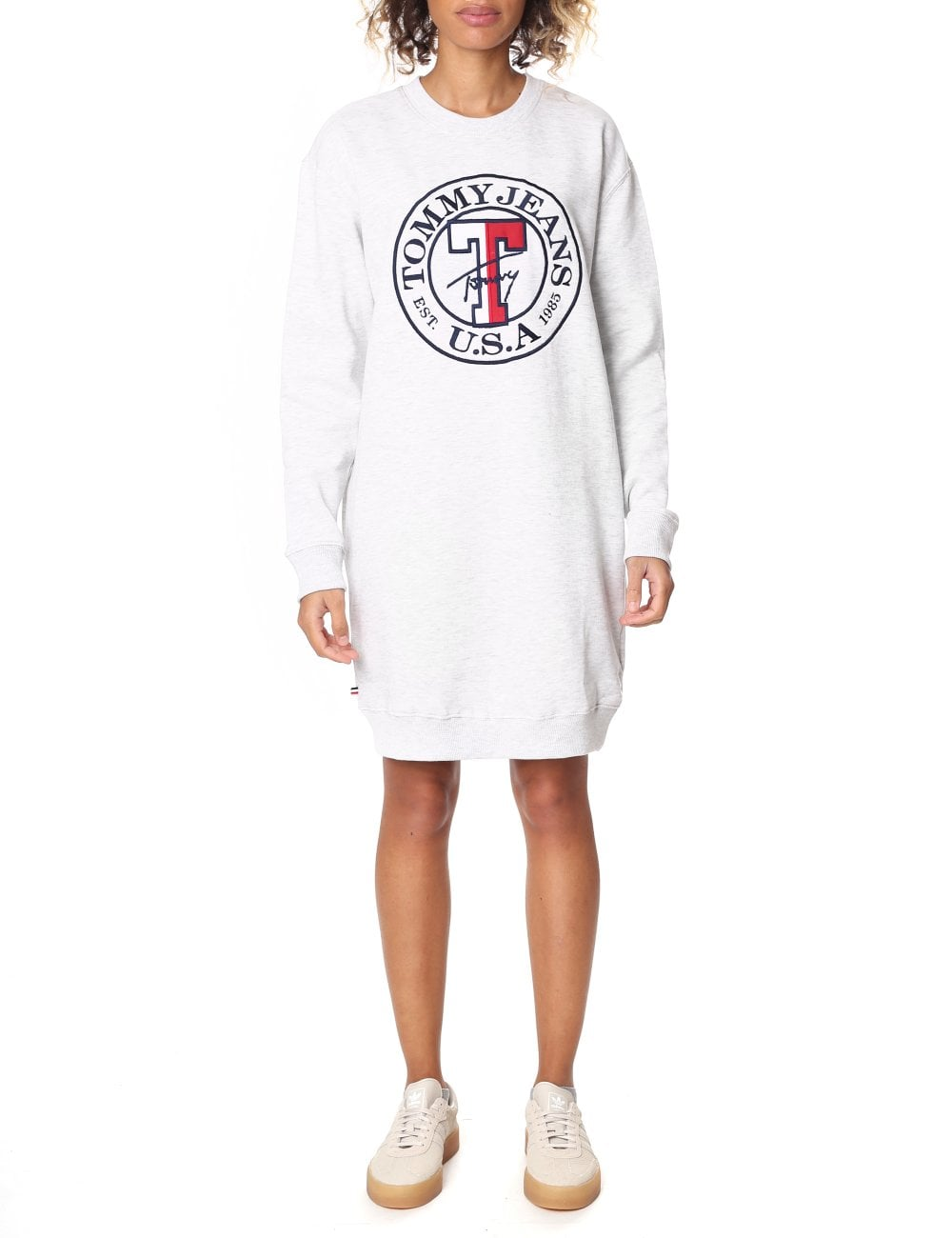 e7b7c2c34996 Tommy Hilfiger Women's Long Sleeve Sweatshirt Dress