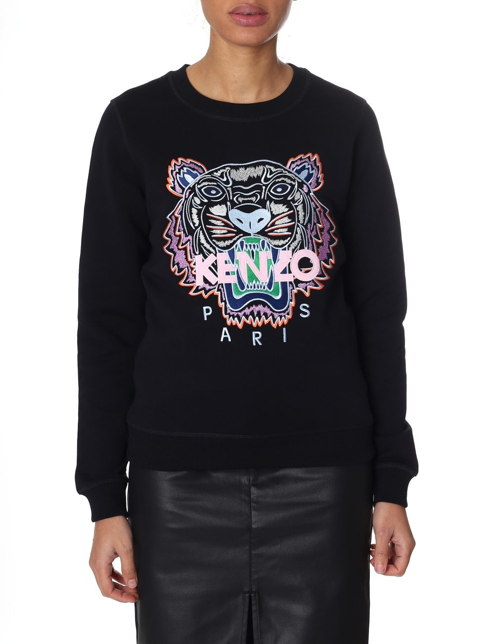 39bc62c0be0f Kenzo Women's Long Sleeve Tiger Sweatshirt