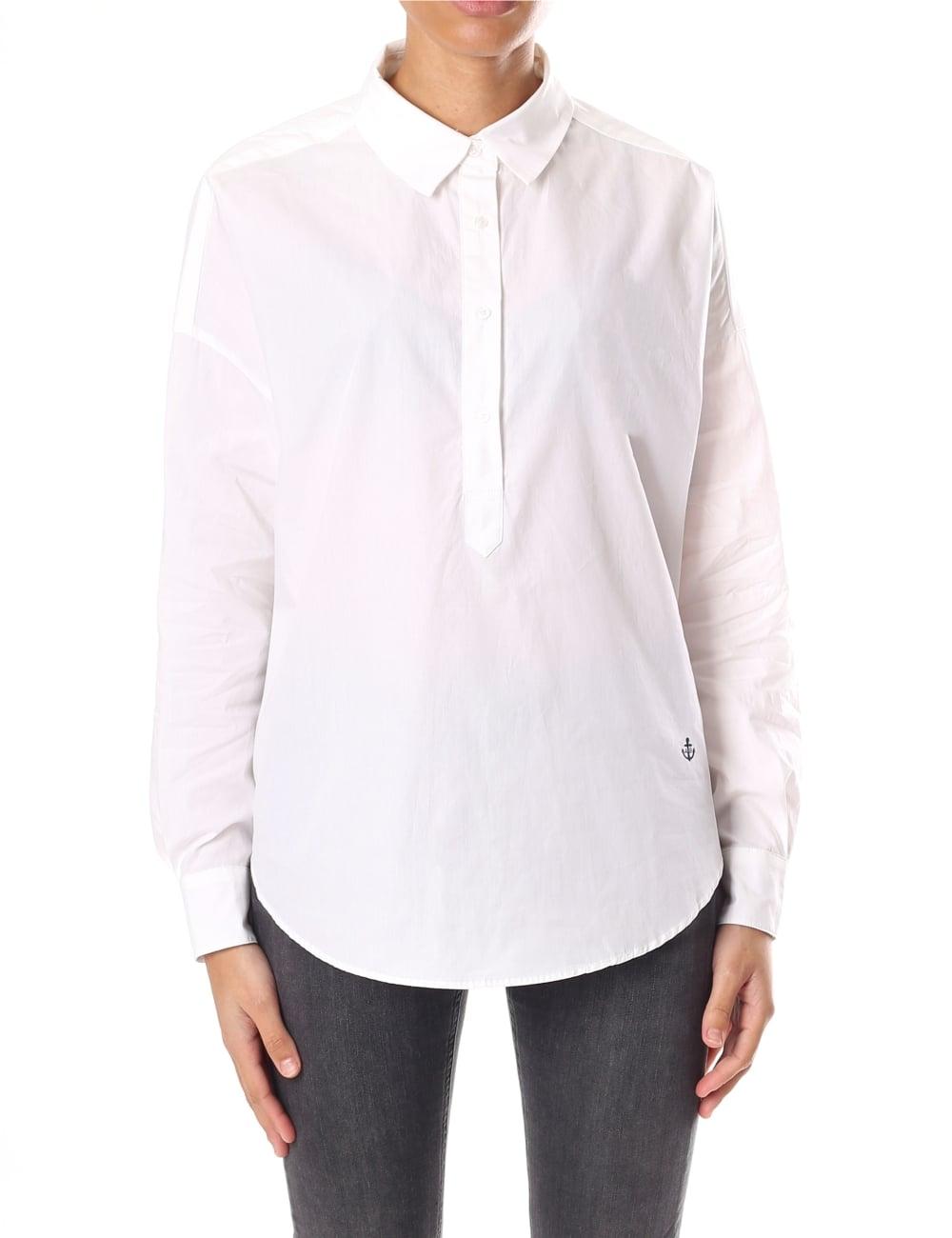 571e2e1f08b Maison Scotch Women's Loose Tunic Summer Shirt
