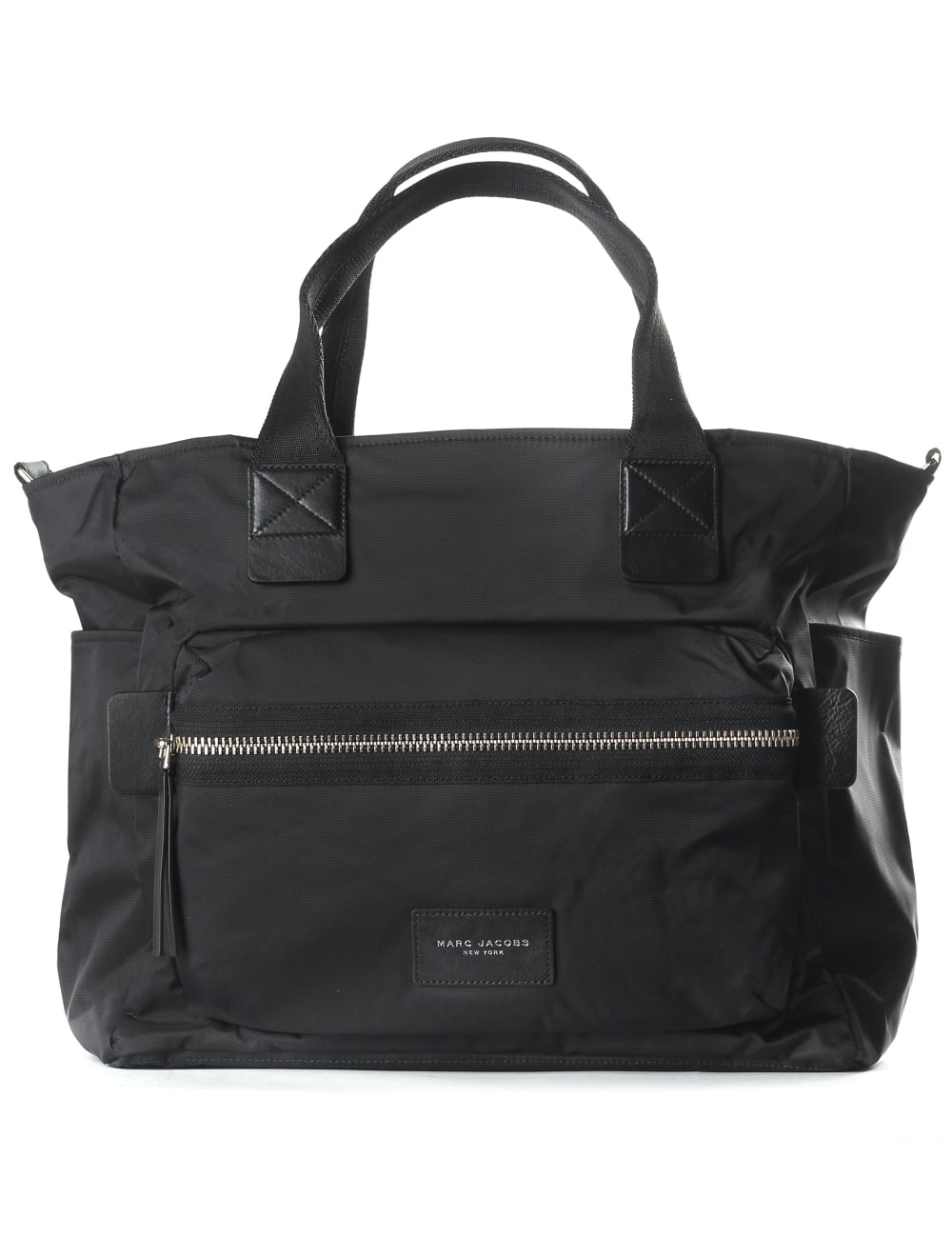 8c9fa227e124ba Marc Jacobs Women's Nylon Biker Baby Bag Black