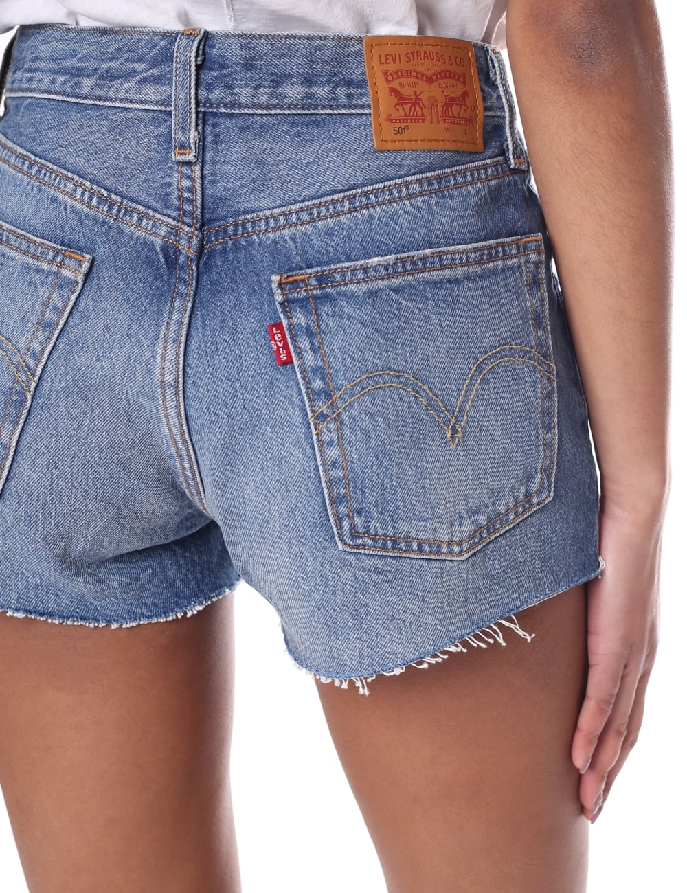 cec29b30 Levi's Women's Original 501 Cut Off Shorts