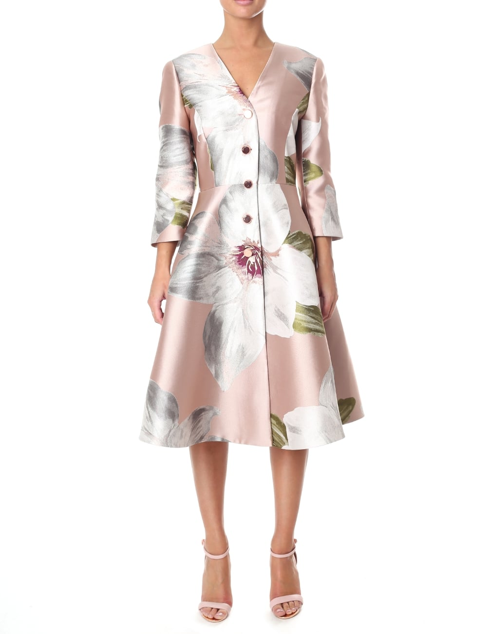 4a898f1dd8d306 Ted Baker Women's Ottie Chatsworth Dress Coat