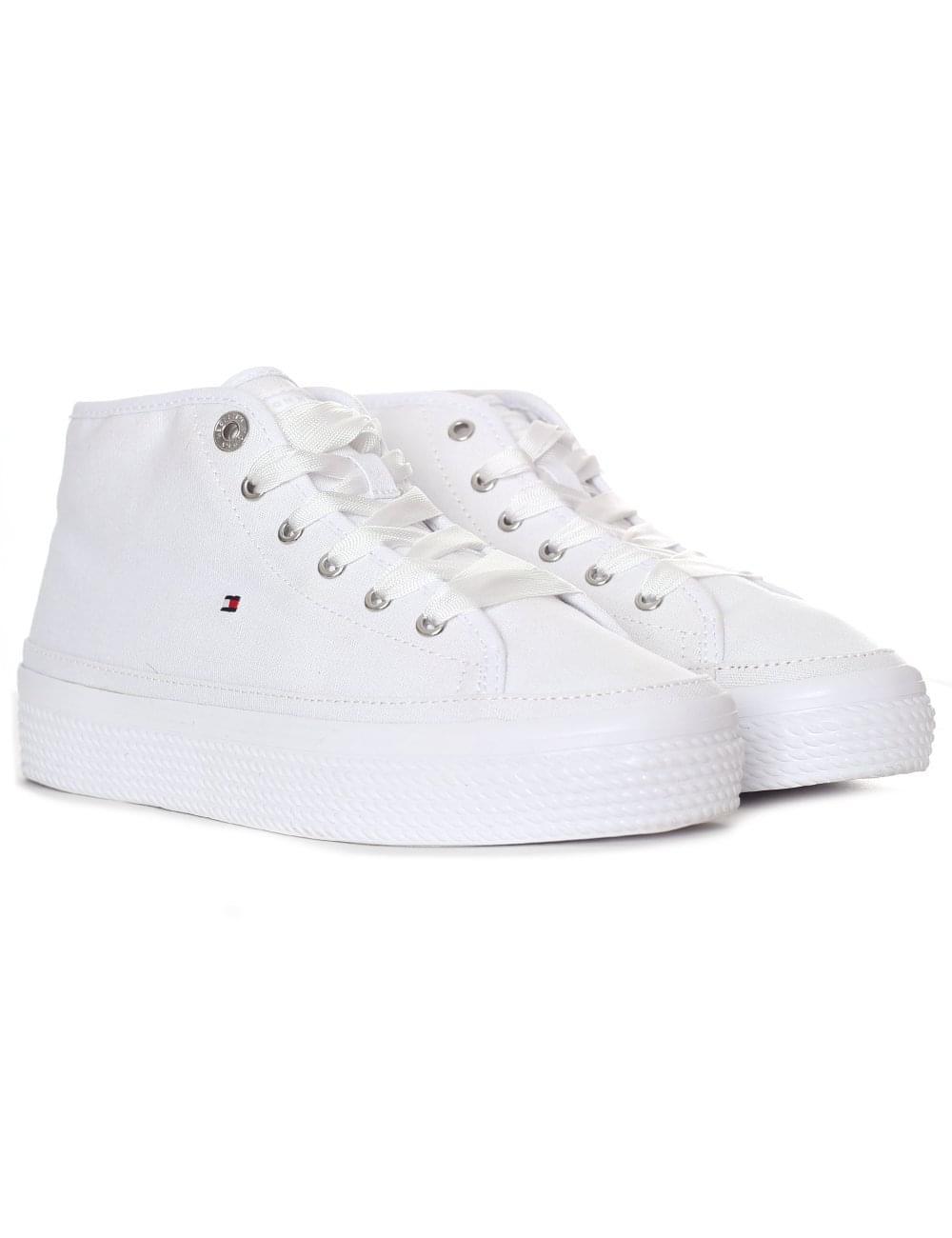 d35a7805 Tommy Hilfiger Women's Pastel Mid Platform Sneaker