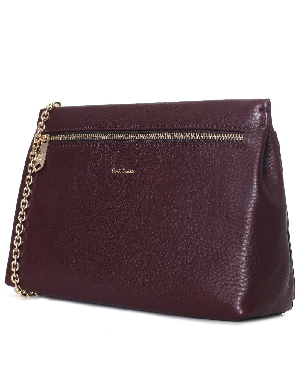 ca9b1cbe921 Paul Smith Women's Pouch Bag With Gold Chain