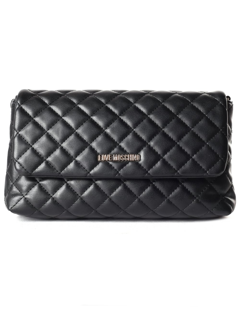 d0532d20204 Moschino Women's Quilted Love Moschino Cross Body Bag
