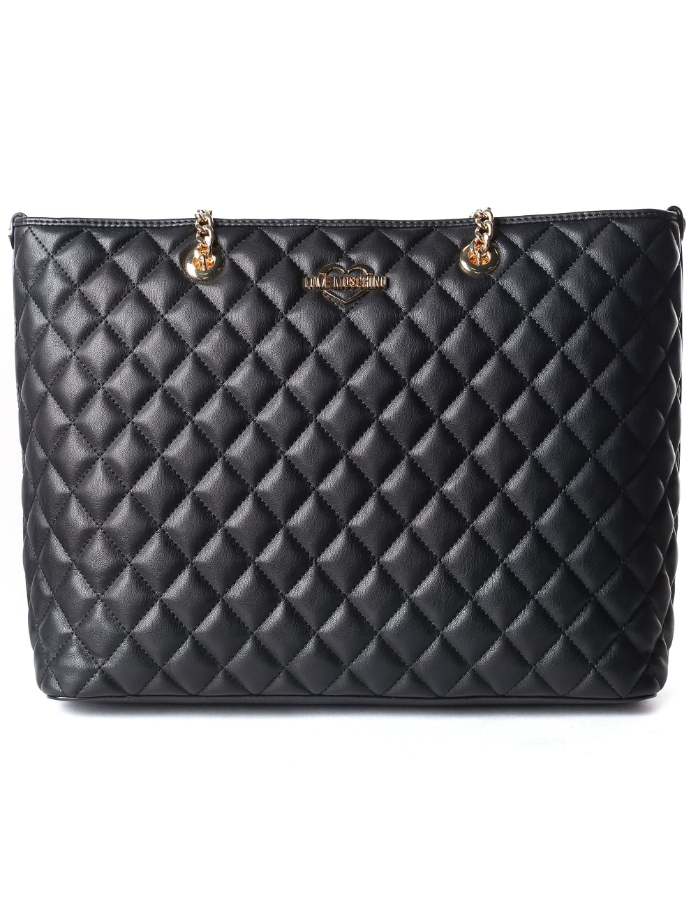 99b21333db Moschino Women's Quilted Shopper Bag