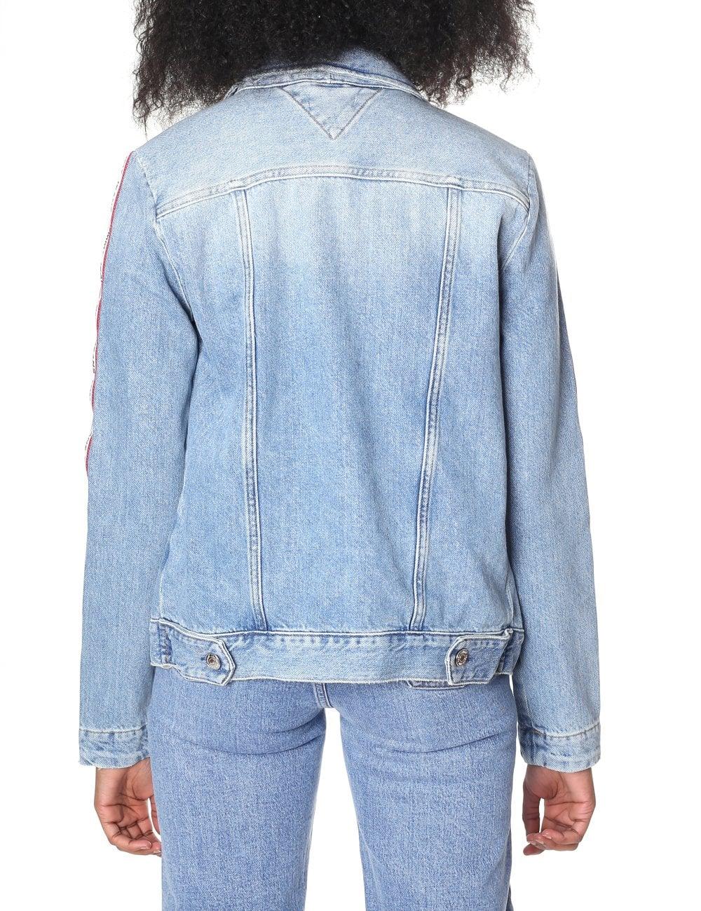 dee4af7d Tommy Jeans Women's Regular Trucker Jacket