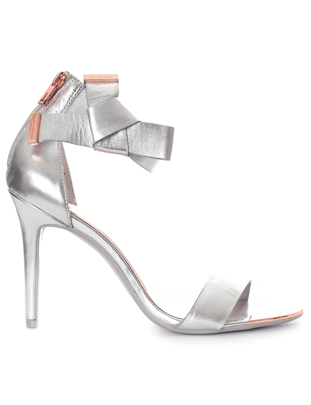 ted baker silver shoes new style 3ecdd
