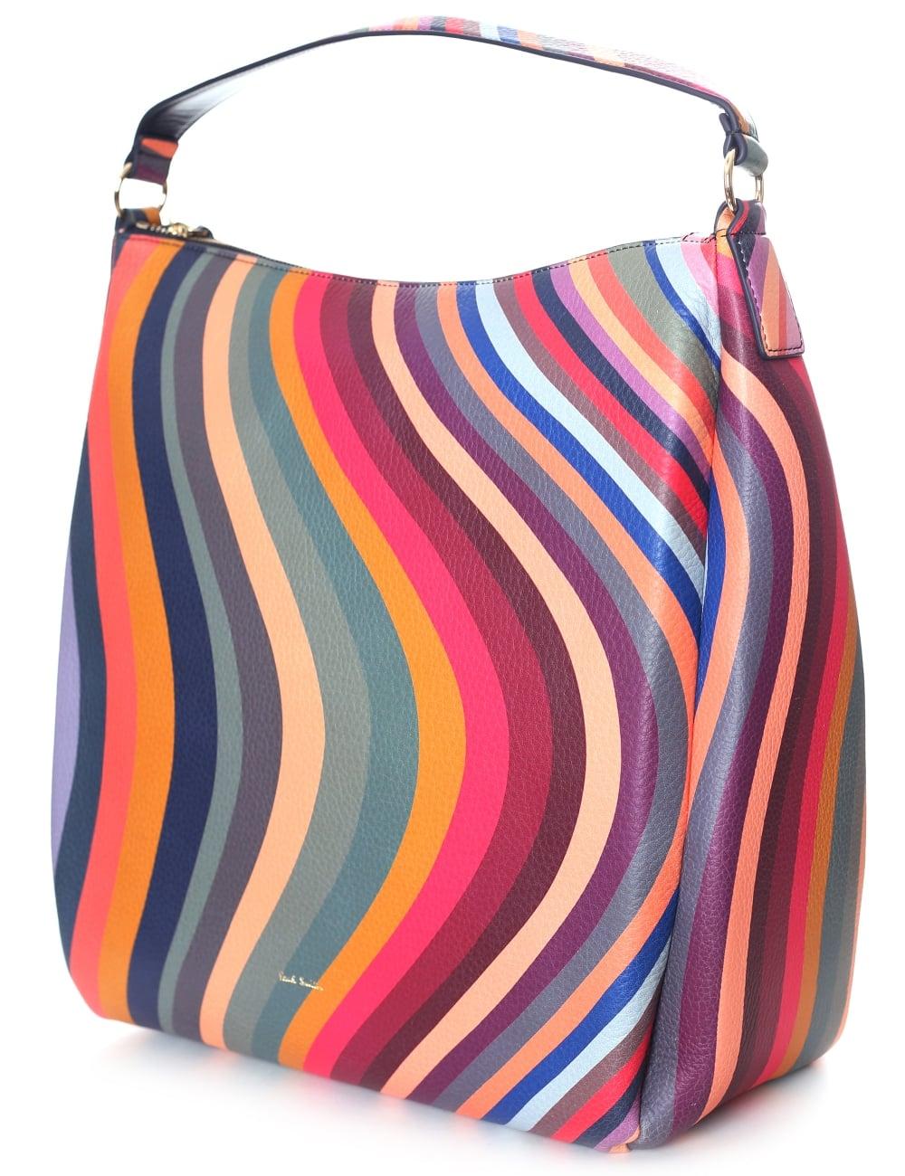 ac74676c6 Paul Smith Women's Swirl Leather Hobo Bag