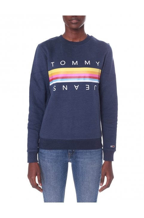 8f79bed69 Women's TJW Rainbow Tommy sweatshirt