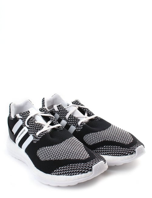 2d88ce61386c8 Adidas Men  039 s Pure Boost ZG Knit Trainer Black