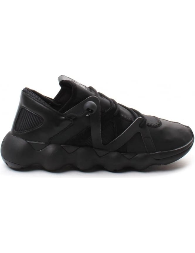 Y-3 Kyujo Men's Low Lace Up Trainer Black