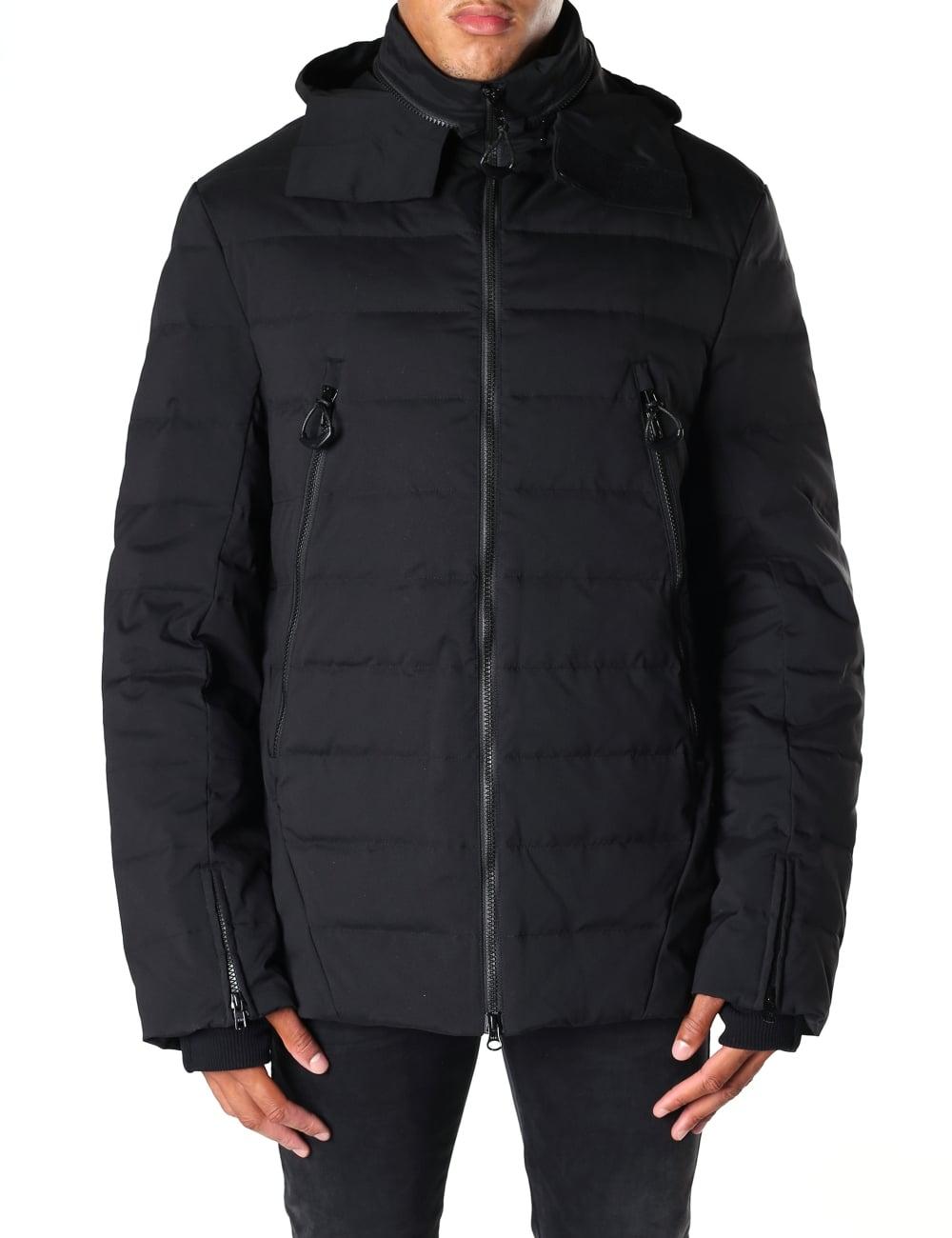 y 3 men s matt quilted down jacket