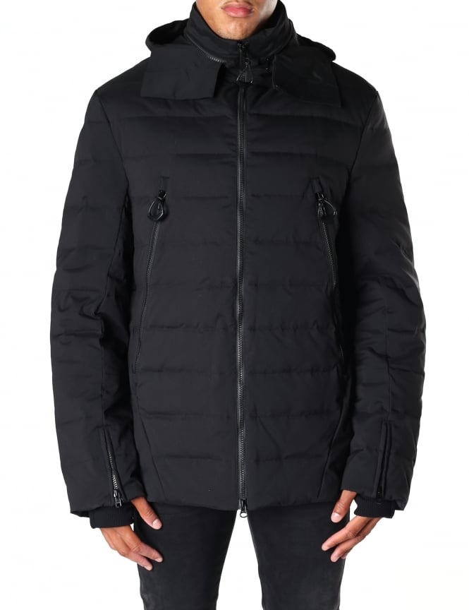 Y-3 Men's Matt Quilted Down Jacket