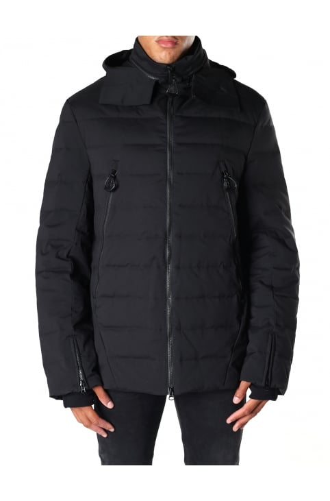 Men's Matt Quilted Down Jacket