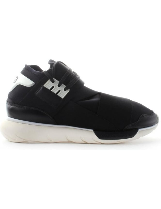bc8fb3961c5d2 Qasa High Men s Lace Up Trainer Black