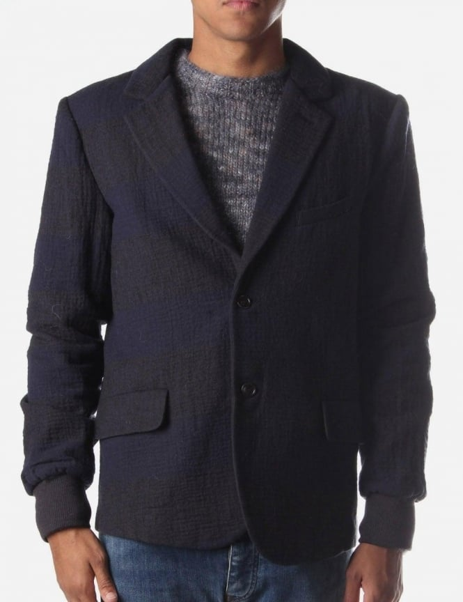 YMC Cropped Men's Jacket Navy