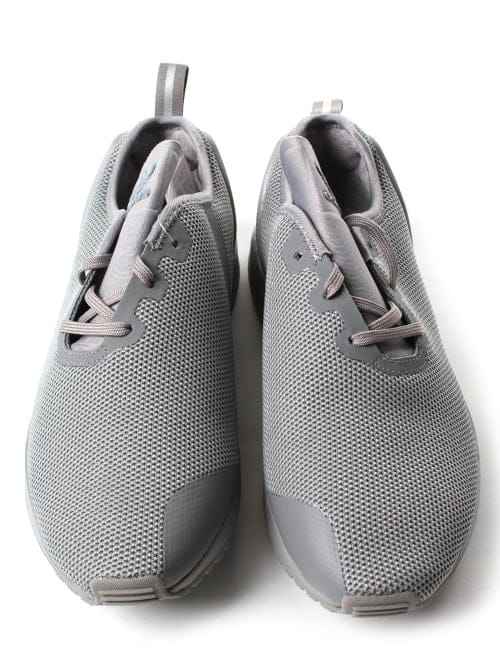 best service bf529 added Adidas ZX Flux ADV Asymmetrical Men's Mesh Lace Up Trainer Grey
