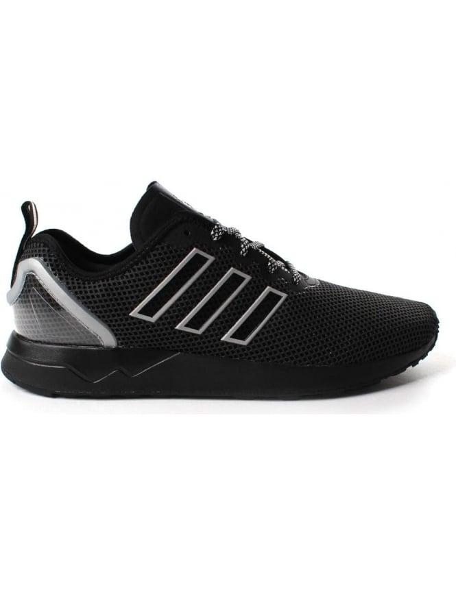 new concept 104e0 055c8 Adidas ZX Flux Adv Men's 3 Stripe Lace Up Trainer Black